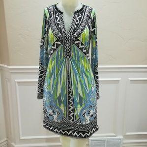 Hale Bob jersey print dress